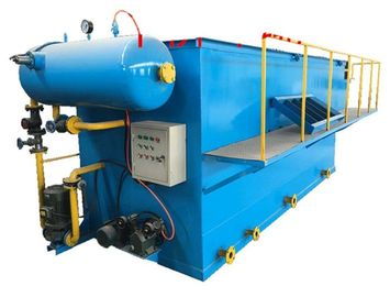 Dissolved Air Flotation DAF Machine With Skimmer Paint For Sewage Treatment Plant